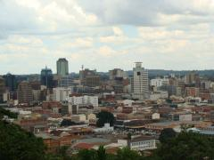 Kopje view of Harare