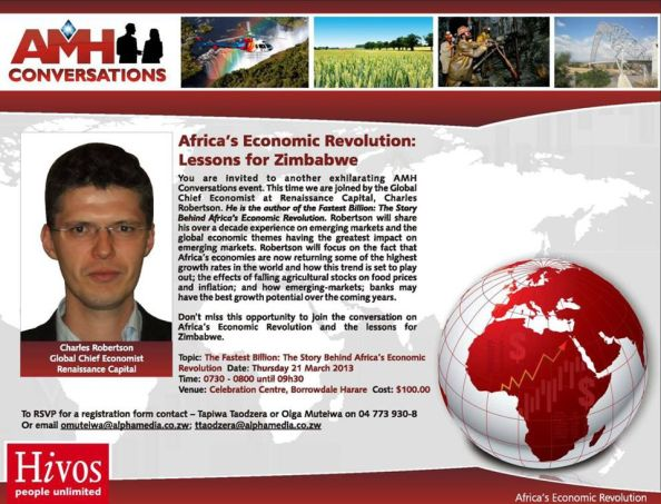 AMHConversation Africa's Econimic Revolution Lessons for Zimbabwe