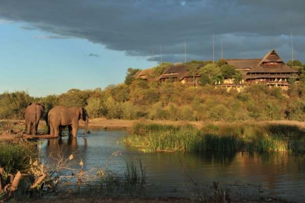 Victoria Falls Safari Lodge Wet Season