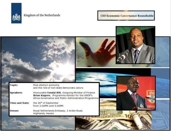 CSO Roundtable 26 Sept 2013 Bit & Kagoro