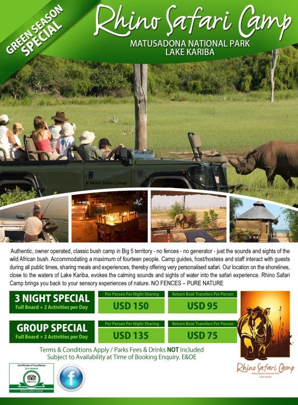 2014 - Rhino - Green Season Special (Agents)